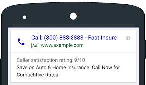 Adding Call Extensions in Google Search Ads