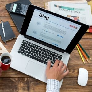 Write regular blogs on the latest trends